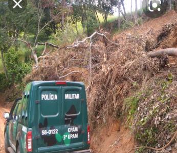policia-ambiental-descobre-area-desmatada-na-zona-rural-de-sao-jose-de-uba